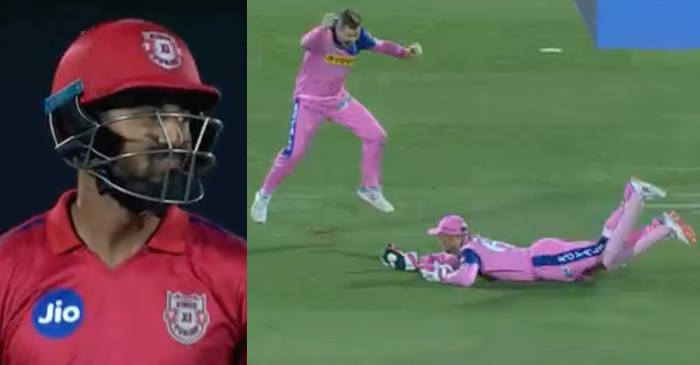 WATCH: Jos Buttler grabs a blinder to dismiss KL Rahul in IPL 2019 Match 4