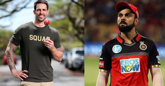 Mitchell Johnson, Virat Kohli