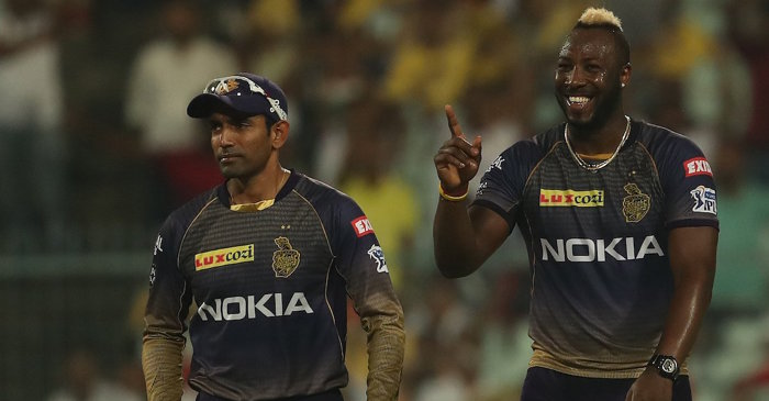 Robin Uthappa, Andre Russell IPL 2019