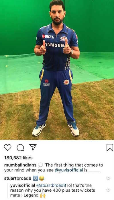 Yuvraj Singh instagram