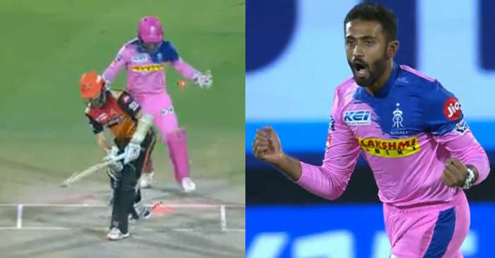IPL 2019 – WATCH: Shreyas Gopal outfoxes Kane Williamson with a perfect wrong'un (RR vs SRH)