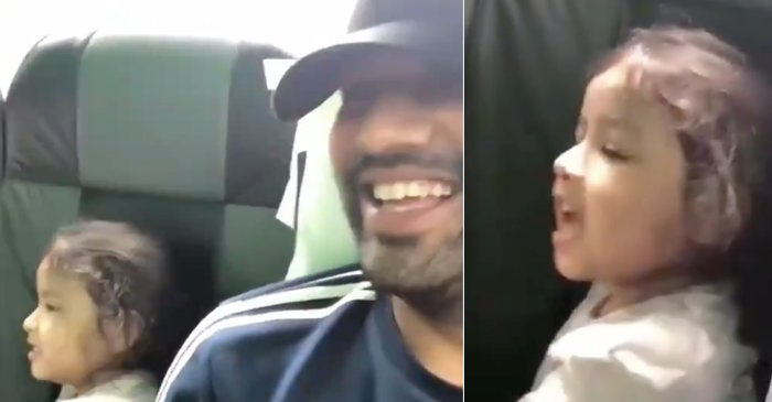 IPL 2019: WATCH – Ziva Dhoni cheers for uncle Rohit Sharma's Mumbai Indians in the most adorable way