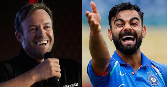 AB de Villiers hilariously reveals why he is scared of saying anything to Virat Kohli
