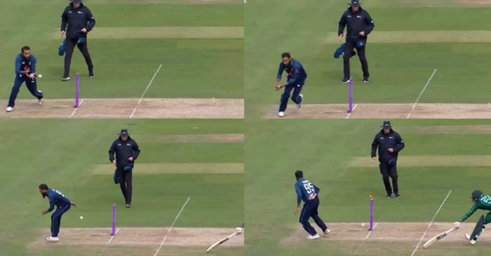 WATCH: Adil Rashid pulls off a brilliant no-look run-out to dismiss Babar Azam