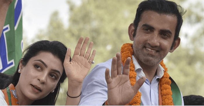 Gautam Gambhir takes a dig at opposition after winning his maiden Parliament election