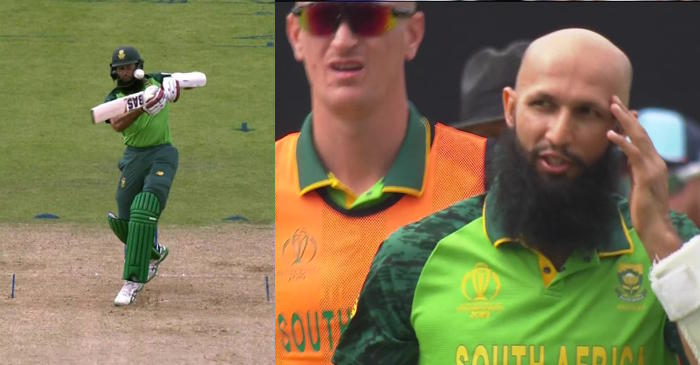 ICC World Cup 2019: South Africa opener Hashim Amla retires hurt after being hit in the head by a 90mph ball from England's Jofra Archer