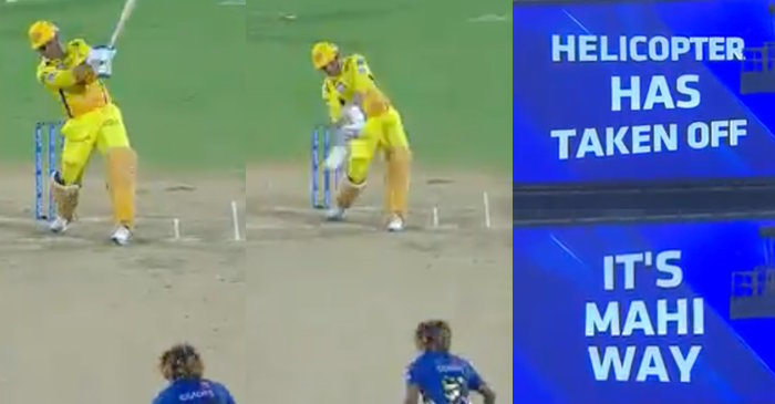 IPL 2019 – WATCH: MS Dhoni's two monstrous sixes of Lasith Malinga in Qualifier 1 (CSK vs MI)