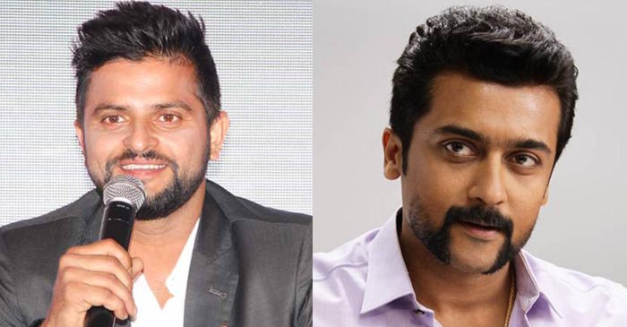 Suresh Raina asks Suriya Sivakumar about his favourite CSK player, the Tamil actor gives a classy reply