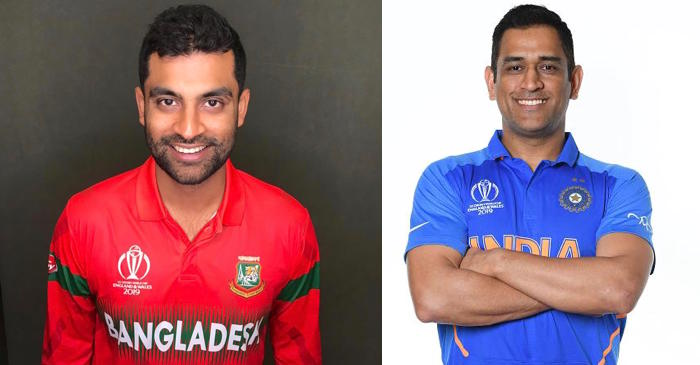 Tamim Iqbal, MS Dhoni