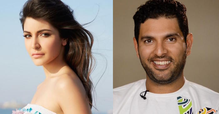 Yuvraj Singh gives a new nickname to Anushka Sharma on her retirement message to him