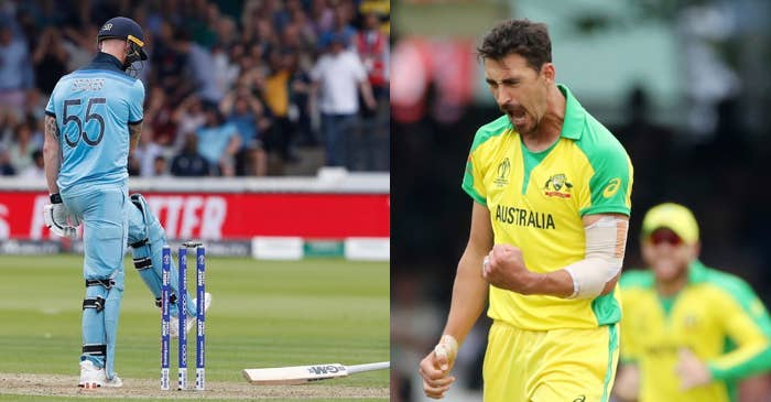ICC World Cup 2019: Cricketing world in awe of Mitchell Starc's ferocious yorker to dismiss Ben Stokes