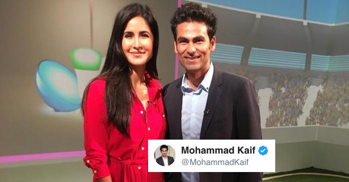 ICC World Cup 2019: Mohammad Kaif finally meets Katrina Kaif, sends fans on Twitter in a tizzy