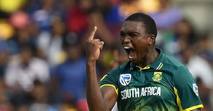 ICC World Cup 2019: South African pacer Lungi Ngidi ruled out of the match against India due to injury