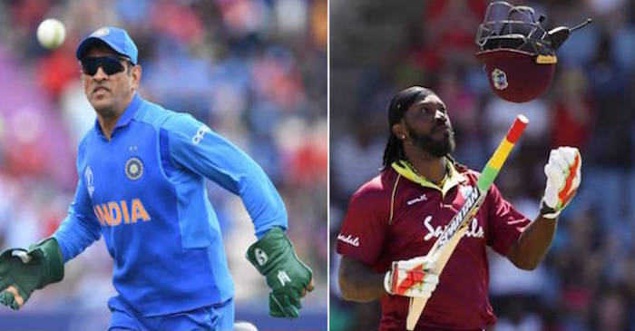 MS Dhoni, Chris Gayle
