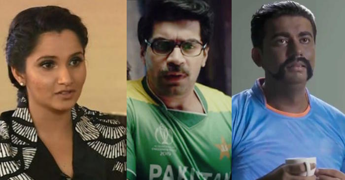 ICC World Cup 2019: Sania Mirza reacts angrily as India, Pakistan release offensive ads before the match