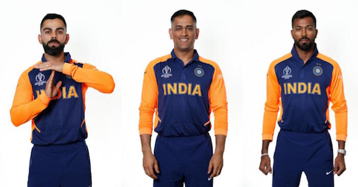 CWC 2019 – WATCH: Virat Kohli & Co.'s first-look in India's away kit for #OneDay4Children