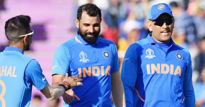 mohammed-shami-and-ms-dhoni