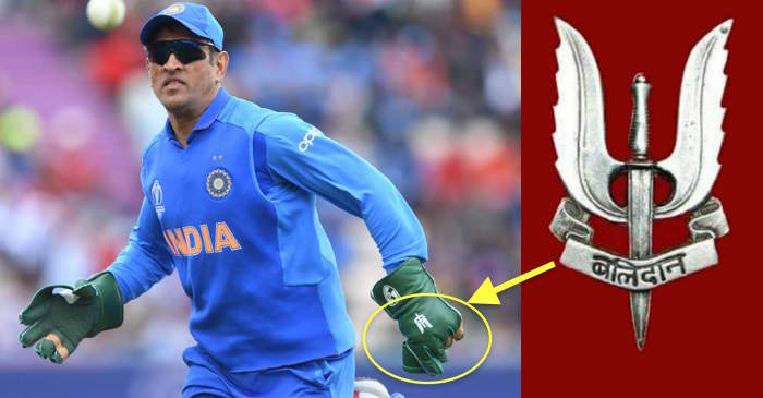 ICC World Cup 2019: MS Dhoni dons Indian Army's 'Balidaan' badge on gloves; fans on Twitter are loving it