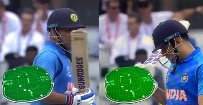 6 fielders outside the ring to run-out Dhoni
