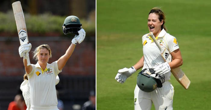 Women's Ashes: Ellyse Perry scores record breaking century in Australia's one-off Test against England