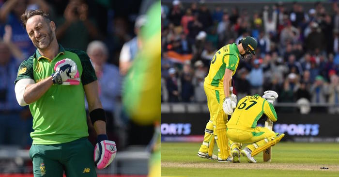CWC 2019: Twitter erupts as Faf du Plessis-led South Africa beat Australia; ensure India finish as table toppers