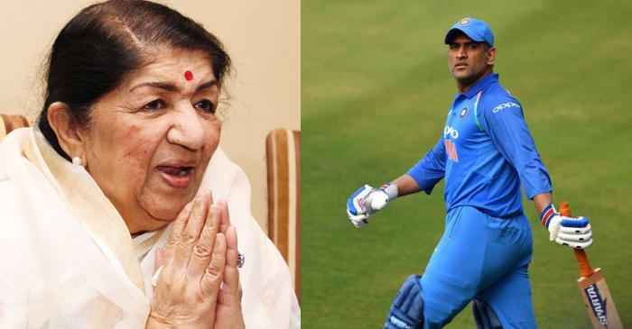CWC 2019: Lata Mangeshkar requests MS Dhoni not to retire from international cricket