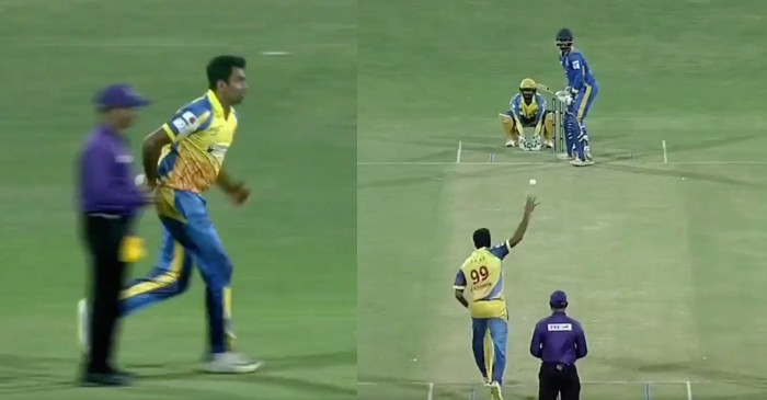TNPL 2019: WATCH – Ravichandran Ashwin delivers the ball with a new 'mystery' action and gets a wicket