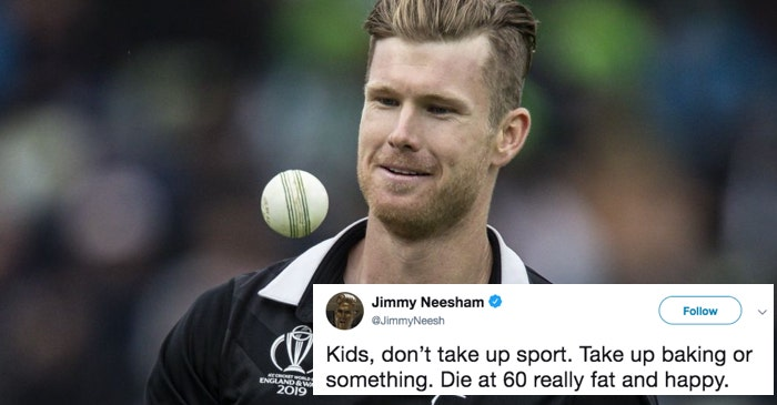CWC 2019: New Zealand all-rounder James Neesham heart-broken after World Cup loss, asks kids to take baking instead of sports