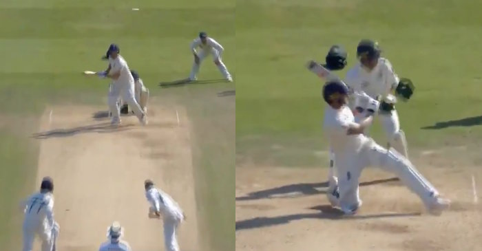 Ashes 2019 – WATCH: Ben Stokes reverse sweeps Nathan Lyon for an unbelievable six