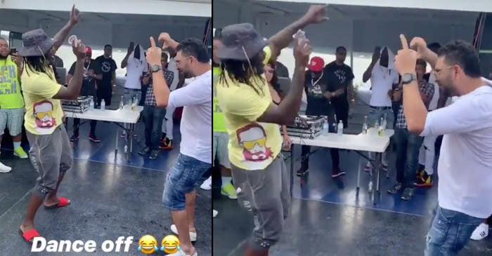 Who did it better? The dance off between Chris Gayle and Yuvraj Singh