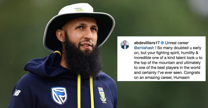 Hashim Amla retires: Cricketing world pays tribute to South Africa star batsman
