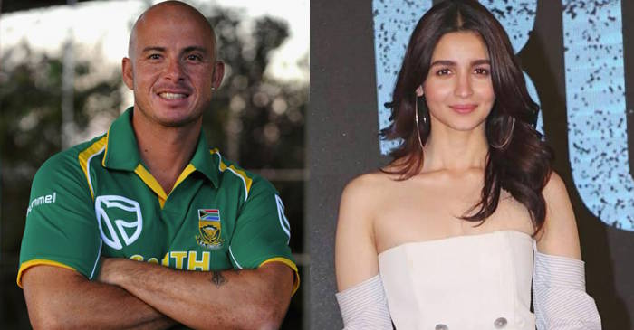 Herschelle Gibbs has no idea who Alia Bhatt is; the actress later responds with a boundary