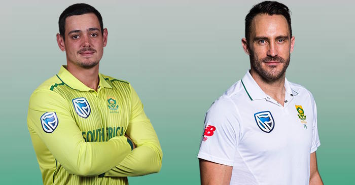 South Africa announce T20I and Test squads for India tour