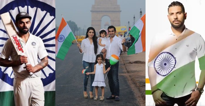 Indian cricket fraternity wishes countrymen on 73rd Independence Day