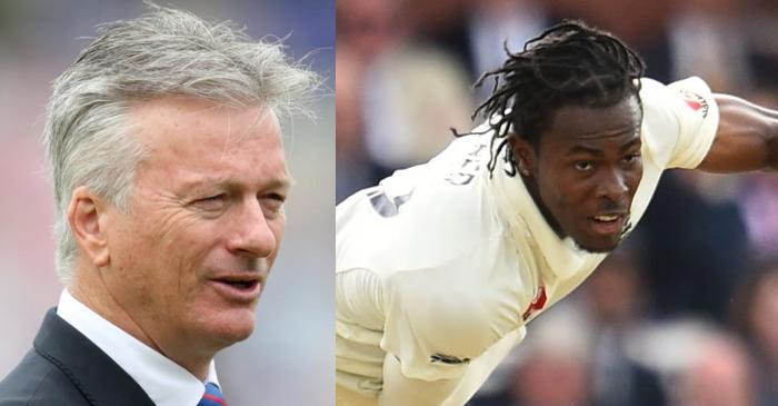He is a very impressive bowler: Steve Waugh opens up about Jofra Archer