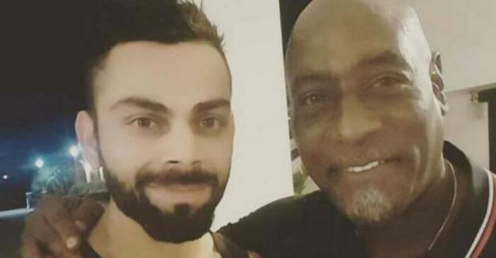 Virat Kohli shares a photo with Sir Vivian Richards on Twitter, calls him 'Biggest Boss'