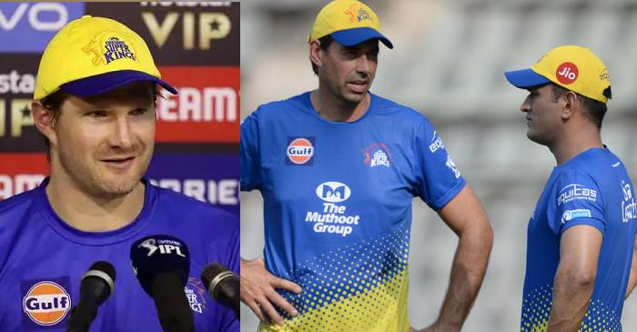 Shane Watson opens up about the relationship between CSK skipper MS Dhoni and coach Stephen Fleming