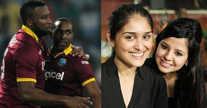 Dwayne Bravo and others congratulate Kieron Pollard on becoming West Indies ODI and T20I captain