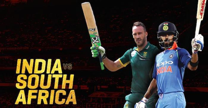 India vs South Africa series 2019: Fixtures, Squads and broadcast details