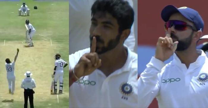 WATCH: Jasprit Bumrah and Virat Kohli silences the Jamaican crowd with animated celebrations