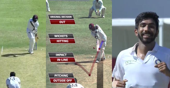 WATCH: Jasprit Bumrah picks up a hat-trick for India against West Indies in 2nd Test