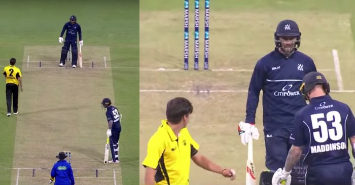 Jhye Richardson vs Glenn Maxwell: Aussie teammates involved in fiery battle during Marsh One-day Cup