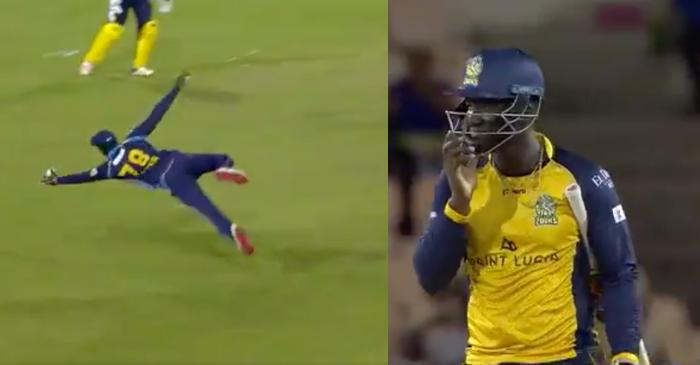 CPL 2019 – WATCH: 'Superman' Jonathan Carter takes a one-handed stunner to dismiss Darren Sammy