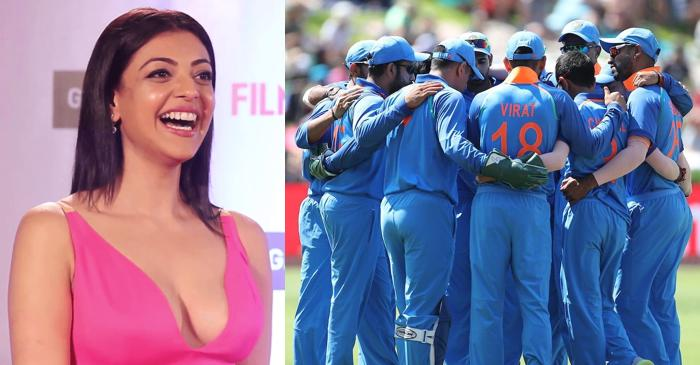 Actress Kajal Aggarwal reveals the name of her two favourite cricketers