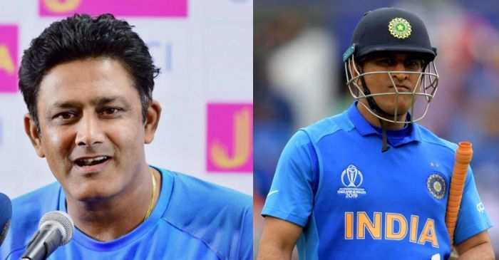 Need to have a proper send-off: Anil Kumble opens up on MS Dhoni's future