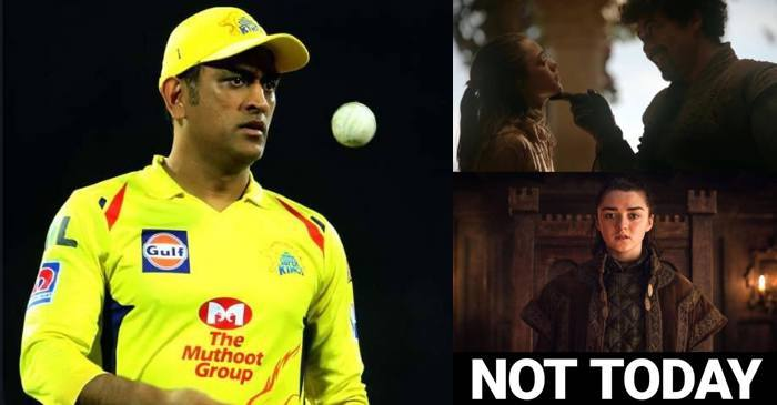 MS Dhoni, Game of Thrones