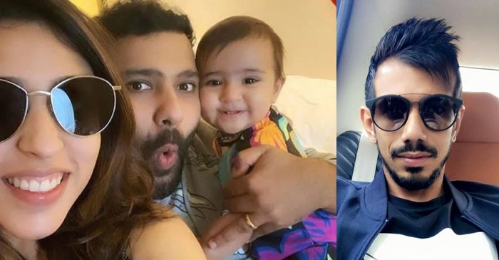 """Rohit Sharma's wife Ritika gives a cheeky reply to Yuzvendra Chahal's """"Why u cropped me Bhabhi"""" comment"""