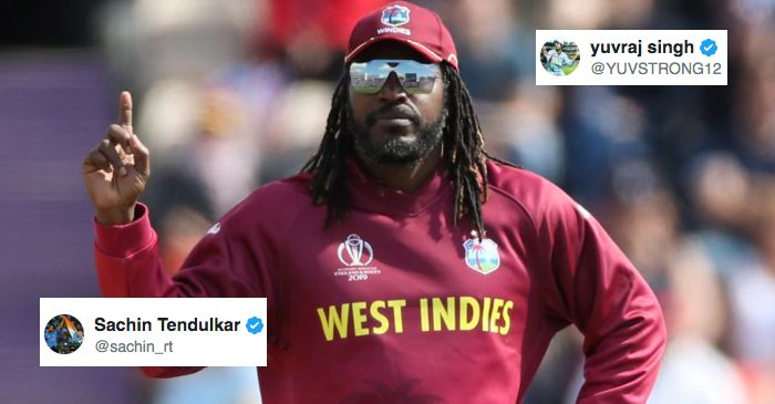 From Sachin Tendulkar to Yuvraj Singh: Here's how cricket fraternity wished Chris Gayle on his 40th birthday