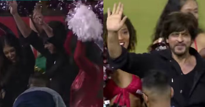 WATCH: Shah Rukh Khan dances with cheerleaders as Trinbago Knight Riders defeat Jamaica Tallawahs by 22 runs (CPL 2019, Match 3)
