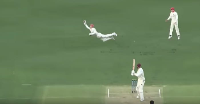 Sheffield Shield: WATCH – Alex Carey takes a sensational flying catch to dismiss Matt Renshaw